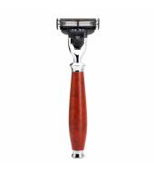 Mühle Purist 3-blade razor Mach3® Briar wood