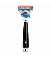 Mühle Rytmo 5-blade razor Fusion™ high-grade resin black
