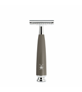 Mühle safety razor Rytmo Closed Comb, Stone Gray