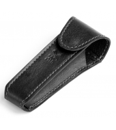 "Mühle Black leather pouch for ""Traditional"" razors"