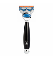 Mühle Vivo 5-blade razor Fusion™ high-grade resin black