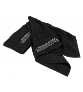 Mr Bear Family Shaving towel Black