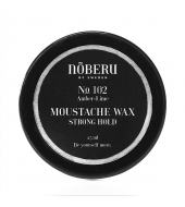 Moustache Wax Nõberu Amber-Lime Strong hold 30ml