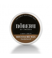 Moustache Wax Nõberu Sandlwood Light hold 30ml