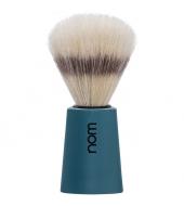 "NOM Shaving brush ""Carl"" Blue"