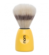 "NOM Shaving brush ""Lasse"" Yellow"
