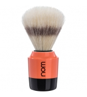 "NOM Shaving brush ""Marten"" Orange"
