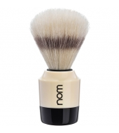 "NOM Shaving brush ""Marten"" White"