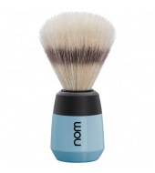 "NOM Shaving brush ""Max"" Fjord blue"