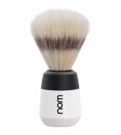 "NOM Shaving brush ""Max"" White"