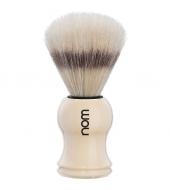 "NOM Shaving brush ""Gustav"" White"
