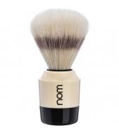 """NOM Shaving brush """"Marten"""" White"""