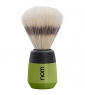 """NOM Shaving brush """"Max"""" Green"""