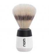 "NOM Shaving brush ""Max"" White"