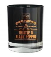 Scottish Fine Soaps Piimohakas & Must pipar lõhnaküünal