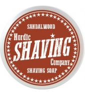 Nordic Shaving Company мыло для бритья сандаловое дерево 80g