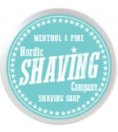 Nordic Shaving Company parranajosaippua mentoli & mänty 80g