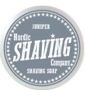 Nordic Shaving Company Shaving soap Juniper 80g