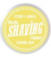 Nordic Shaving Company parranajosaippua Sitrus & inkivääri 80g