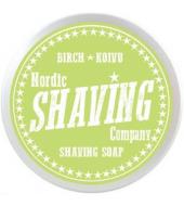 Nordic Shaving Company parranajosaippua Koivu 80g