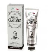 Pasta del Capitano 1905 Зубная паста Charcoal 75ml