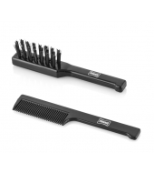 Proraso Moustache comb and moustache brush