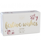 Scottish Fine Soaps Christmas soap Festive Wishes 200g