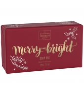 Scottish Fine Soaps Christmas soap Merry & Bright 200g