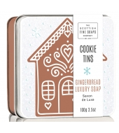 Scottish Fine Soaps Soap in a tin Gingerbread 100g