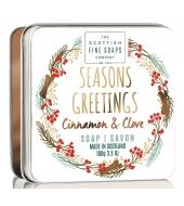 Scottish Fine Soaps joulu saippua Seasons Greetings 100g