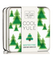 Scottish Fine Soaps Soap in a tin Winter Pine 100g