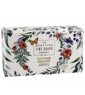 Scottish Fine Soaps Luxury soap Cottage Garden 220g