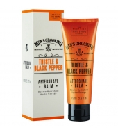 Scottish Fine Soaps Aftershave balm Thistle & Black Pepper 75ml