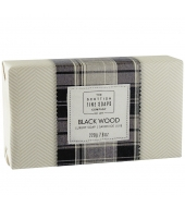 Scottish Fine Soaps Luksuslik seep Black Wood 220g