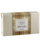 Scottish Fine Soaps Luksuslik seep Fresh Linen 220g