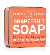 Scottish Fine Soaps Soap in a tin Grapefruit 100g