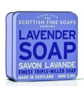 Scottish Fine Soaps Soap in a tin Lavender 100g