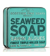 Scottish Fine Soaps Soap in a tin Seaweed 100g