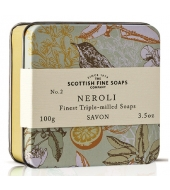 Scottish Fine Soaps Soap in a tin Neroli 100g