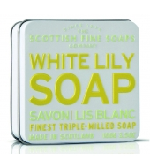 Scottish Fine Soaps Soap in a tin White Lilly 100g