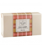 Scottish Fine Soaps Luxury soap Pink Amber 220g