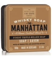 Scottish Fine Soaps Viski seep karbis Manhattan 100g