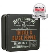 Scottish Fine Soaps Shampoo Bar Thistle & Black Pepper 100g