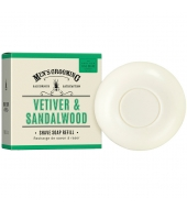 Scottish Fine Soaps Shaving soap refill Vetiver & Sandalwood