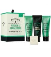 Scottish Fine Soaps Gift set Vetiver & Sandalwood
