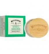 Scottish Fine Soaps Shaving soap in a bowl Vetiver & Sandalwood