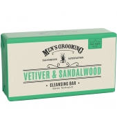 Scottish Fine Soaps Seep Vetiveeria & Sandlipuu 200g
