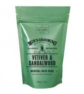 Scottish Fine Soaps Bath Soak Vetiver & Sandalwood 500g