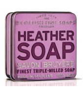 Scottish Fine Soaps Soap in a tin Heather 100g