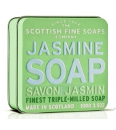 Scottish Fine Soaps Soap in a tin Jasmine 100g